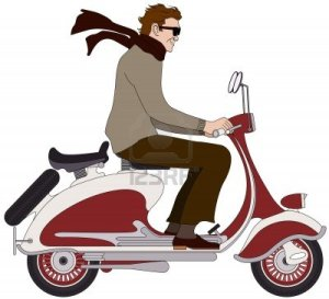 7483765-an-italian-boy-on-a-scooter