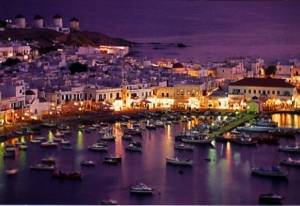 Mykonos at night. How I miss it!